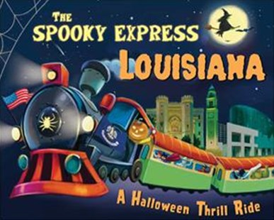 The Spooky Express Louisiana by Eric James, Marcin Piwowarski (9781492653646) - HardCover - Non-Fiction Transport