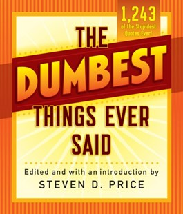 (ebook) Dumbest Things Ever Said - Humour General Humour