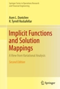 (ebook) Implicit Functions and Solution Mappings - Science & Technology Mathematics
