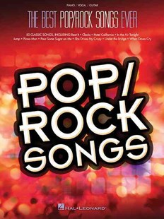 Best Pop/Rock Songs Ever (Pvg) by Hal Leonard Publishing Corporation (9781495002588) - PaperBack - Entertainment Music General