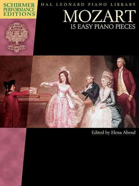 15 Easy Piano Pieces - Schirmer Performance Editions - Book Only