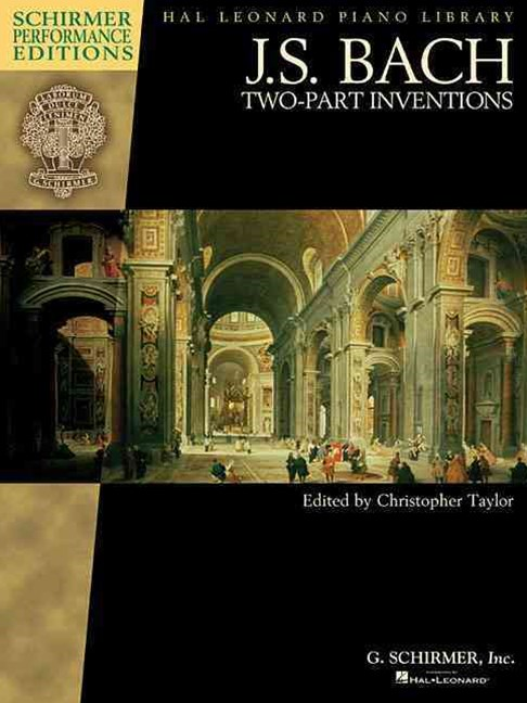 Two-Part Inventions - Piano - Schirmer Performance Editions Book Only