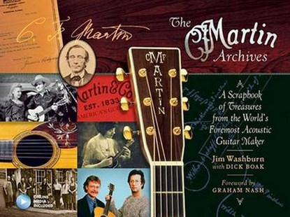 Martin Archives, the by Jim Washburn, Dick Boak (9781495013041) - PaperBack - Entertainment Music Technique