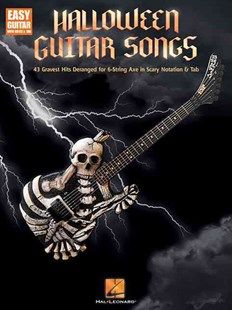 Halloween Guitar Songs by Hal Leonard Publishing Corporation (9781495028281) - PaperBack - Entertainment Music Technique