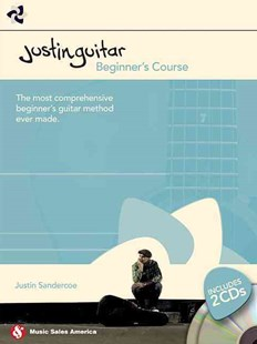 Justin Guitar Beginner's Course by Justin Sandercoe (9781495059964) - PaperBack - Entertainment Music Technique