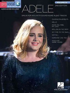 Adele by Adele, Hal Leonard Publishing Corporation (9781495064012) - PaperBack - Entertainment Music General