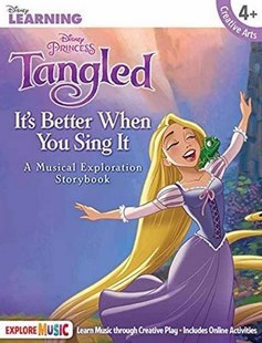 Tangled it's Better When You Sing it by Hal Leonard Corp (9781495064777) - PaperBack - Non-Fiction Art & Activity