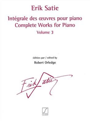 Complete Works for Piano - Volume 3