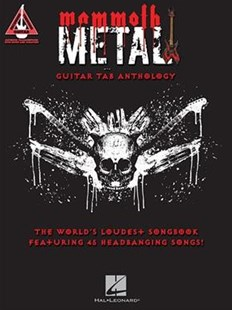 Mammoth Metal Guitar Tab Anthology by Hal Leonard Publishing Corporation (9781495083310) - PaperBack - Entertainment Sheet Music
