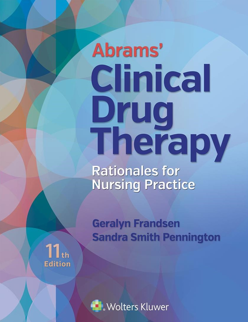 Abrams Clinical Drug Therapy