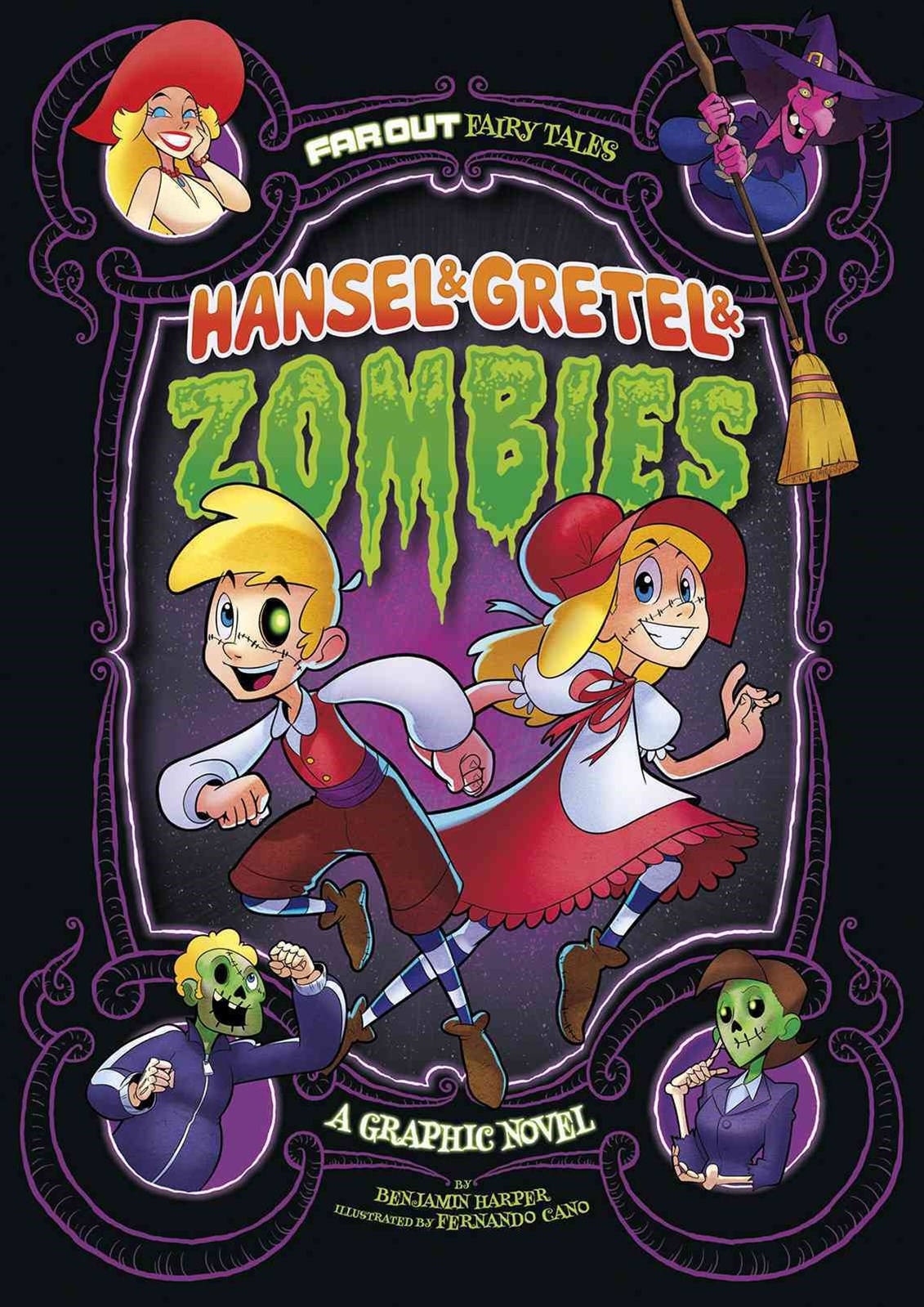 Hansel and Gretel and Zombies: a Graphic Novel