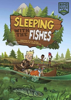 Dymocks sleeping with the fishes by c b jones chris green for Sleeping with the fishes