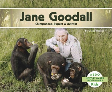 Jane Goodall by Grace Hansen (9781496612250) - PaperBack - Non-Fiction Animals