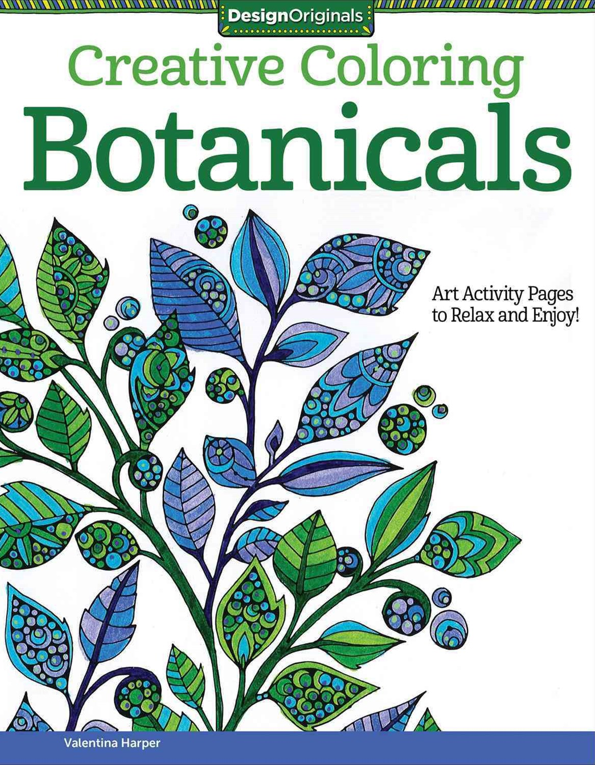 Creative Coloring Botanicals