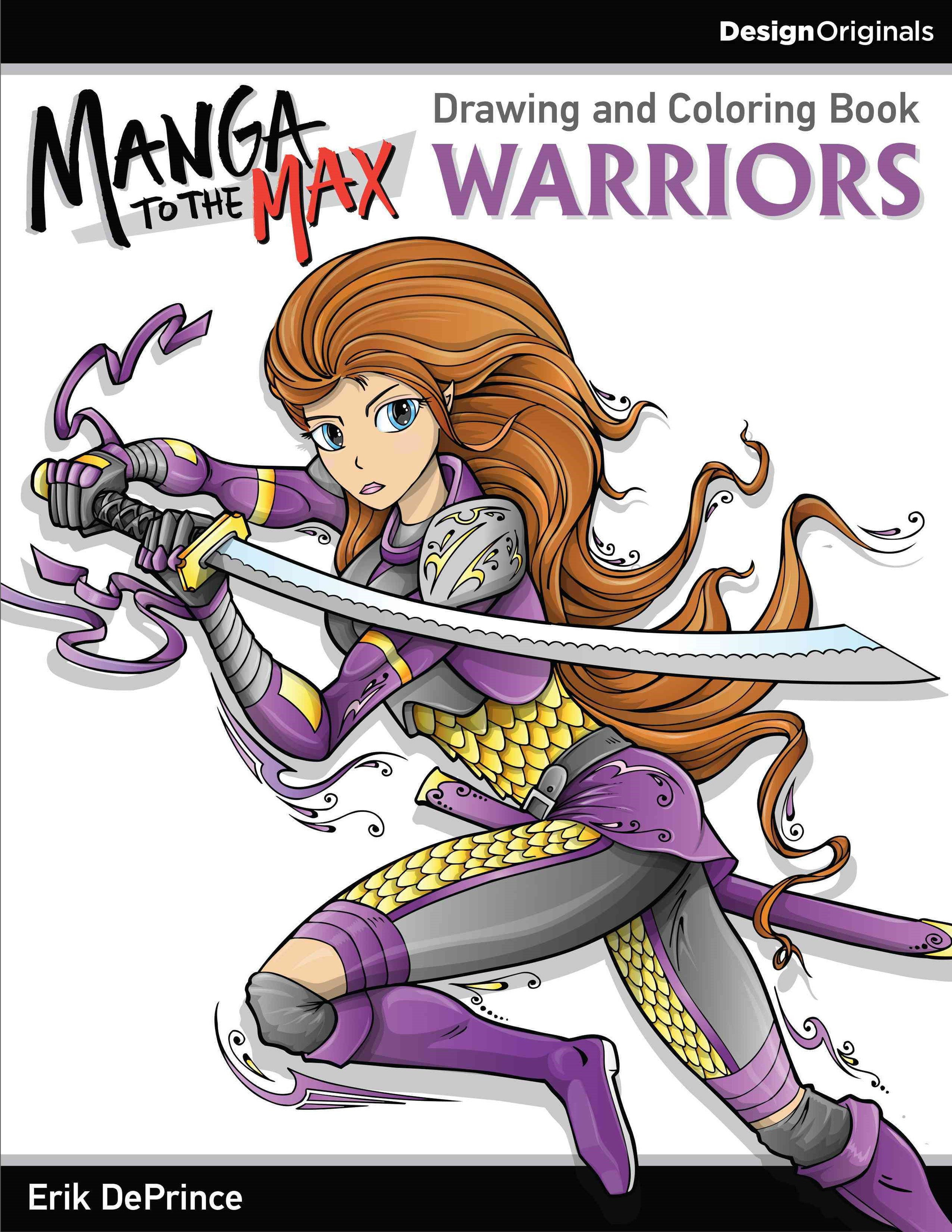 Manga to the Max Warriors