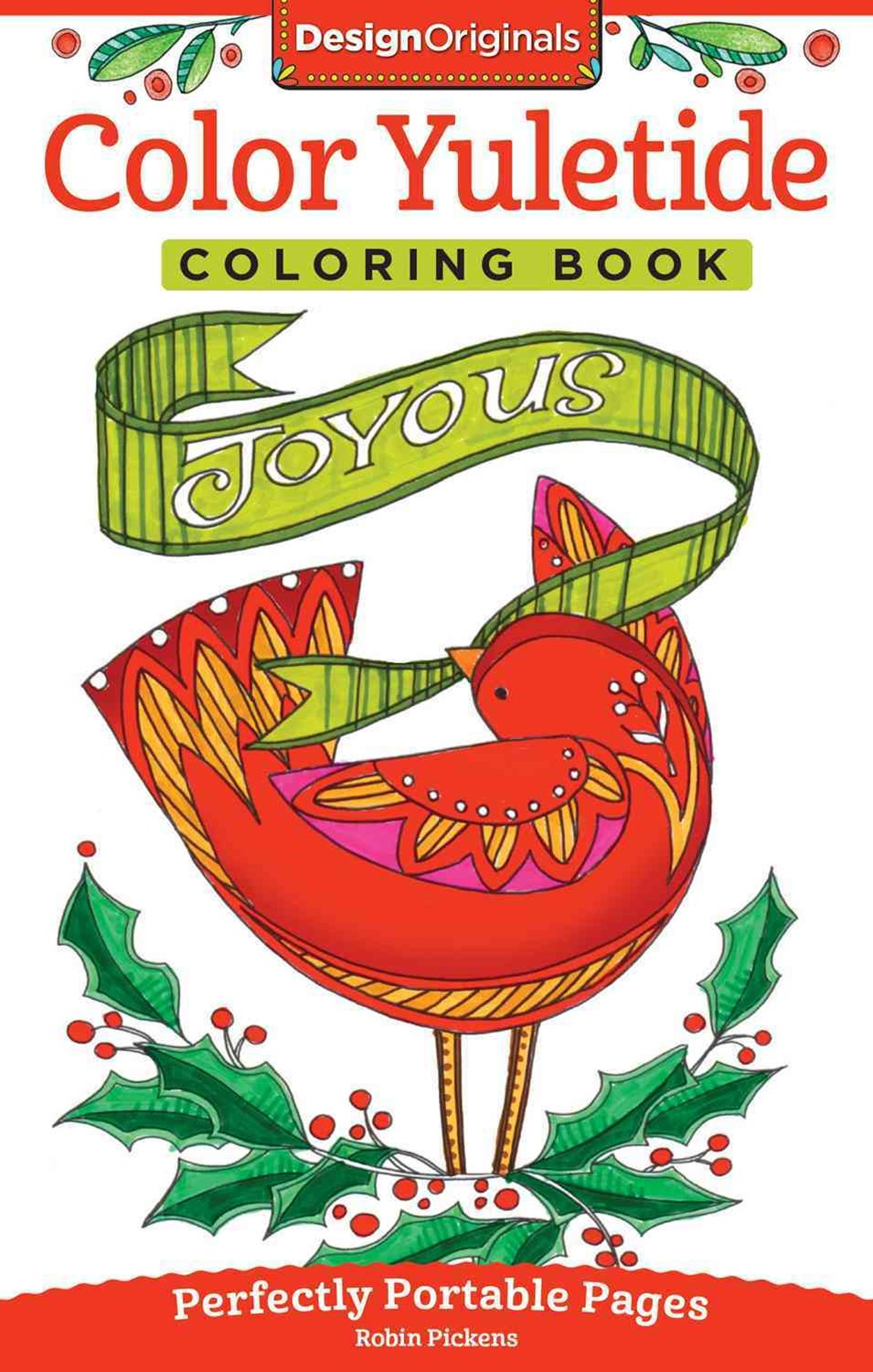 Color Yuletide Coloring Book