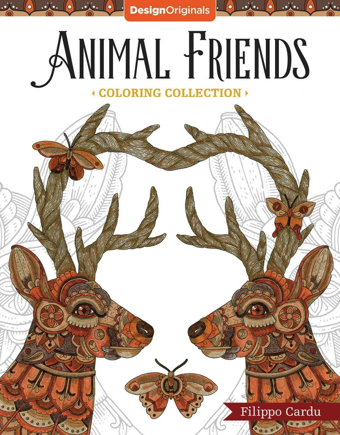 Animal Friends (Filippo Cardu Coloring Collection)