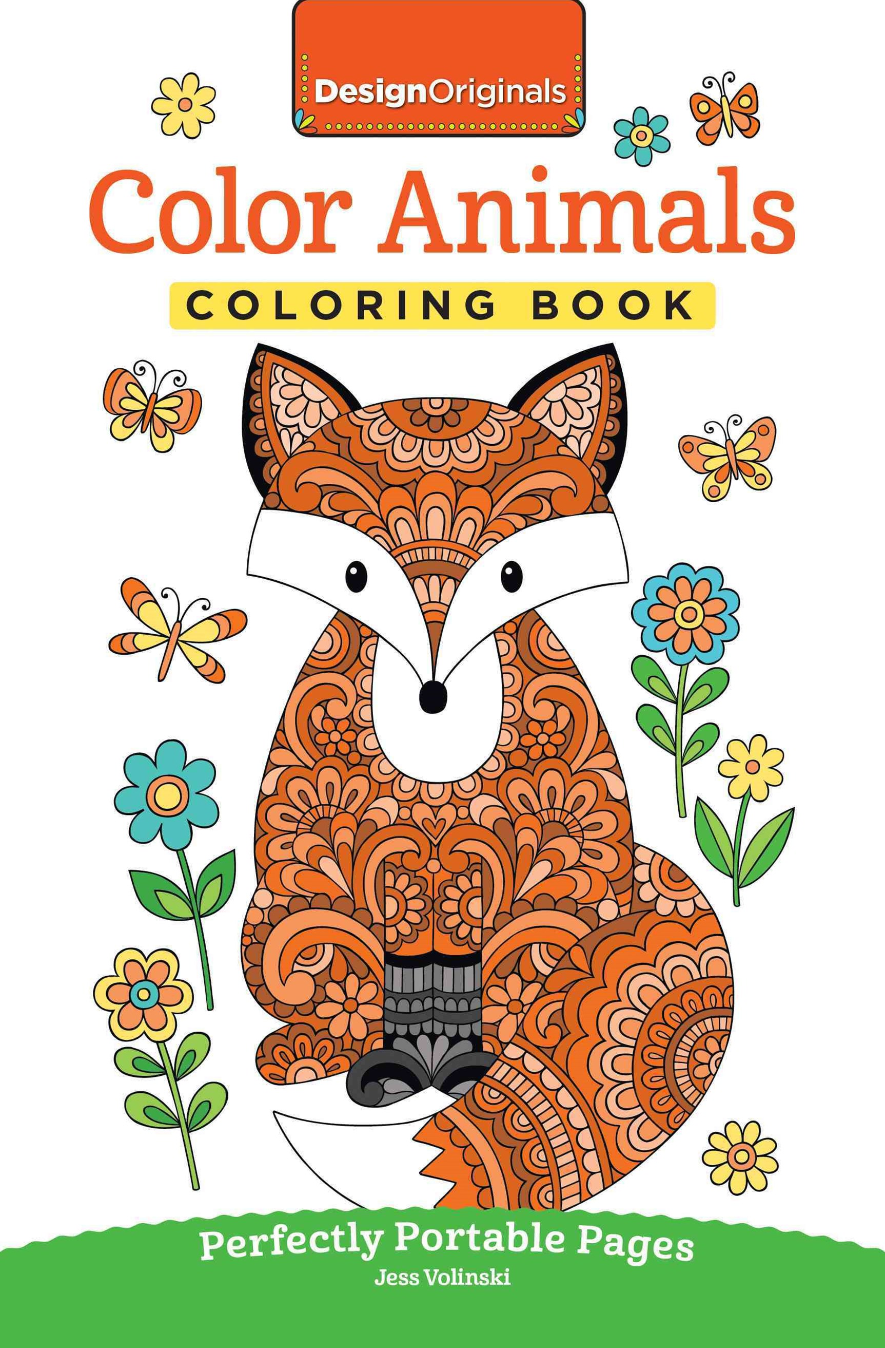 Color Animals Coloring Book