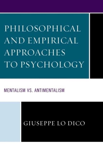 (ebook) Philosophical and Empirical Approaches to Psychology