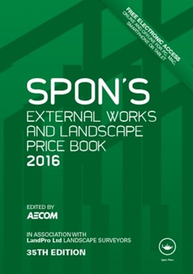 (ebook) Spon's External Works and Landscape Price Book 2016