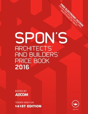(ebook) Spon's Architect's and Builders' Price Book 2016