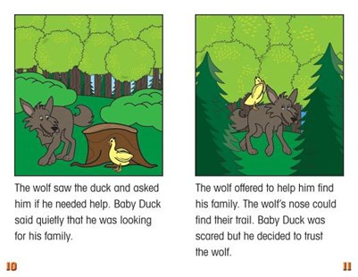 Baby Duck and the Wolf by Katie Smythe (9781499498530) - PaperBack - Children's Fiction Intermediate (5-7)