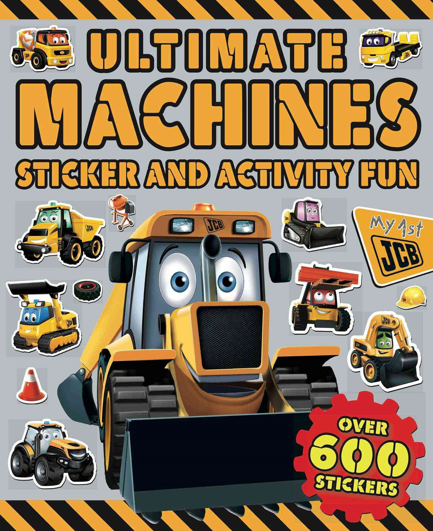 Ultimate Machines Sticker and Activity Fun