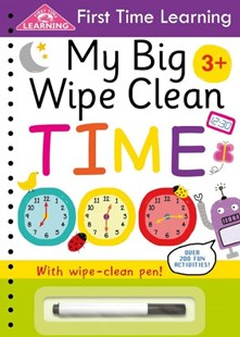 My Big Wipe Clean Time by Igloobooks (9781499881387) - PaperBack - Non-Fiction Art & Activity