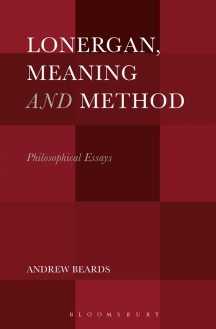 (ebook) Lonergan, Meaning and Method