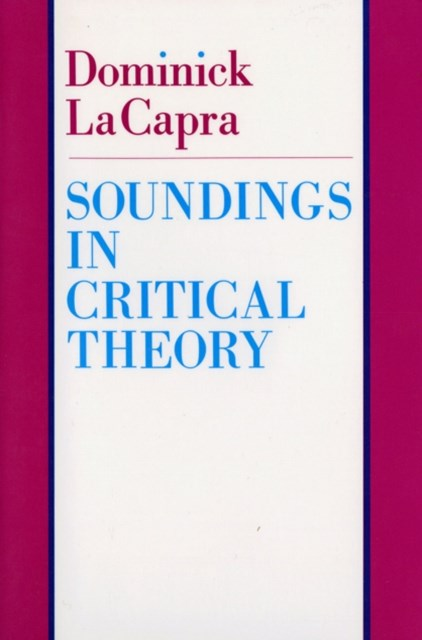(ebook) Soundings in Critical Theory