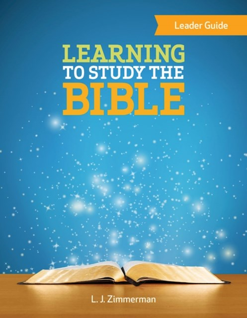 (ebook) Learning to Study the Bible Leader Guide