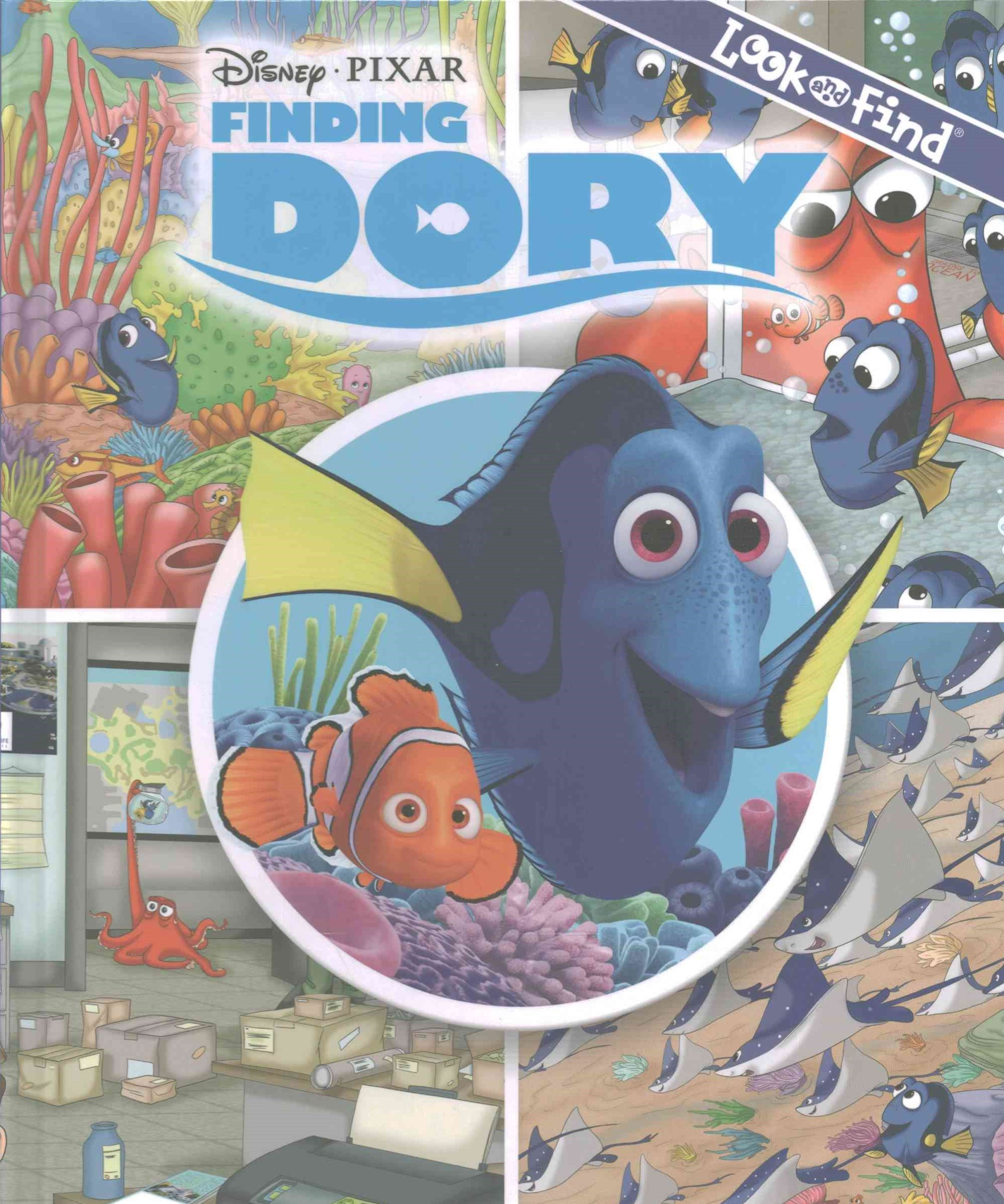 Finding Dory - Look and Find