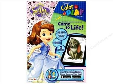 Sophia the First Color & Play Ultimate Activity Book