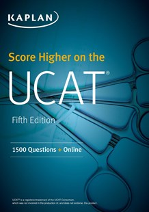 Score Higher on the UCAT: 1500 Questions + Online by Kaplan Test Prep (9781506213583) - PaperBack - Education Study Guides