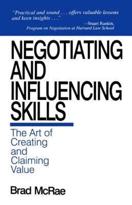 Negotiating and Influencing Skills