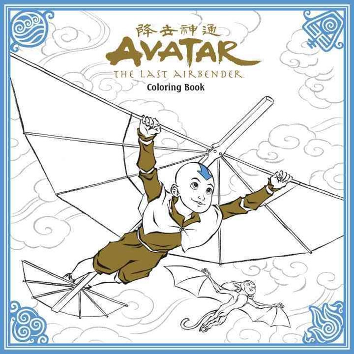 Avatar The Last Airbender Adult Coloring Book