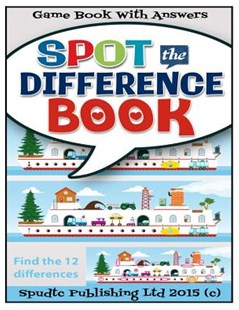 Spot the Difference Book by Spudtc Publishing Ltd (9781508682615) - PaperBack - Humour Jokes & Riddles
