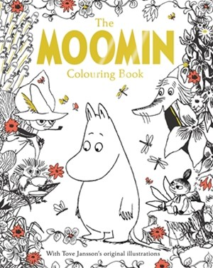 Moomin's Mindfulness Colouring