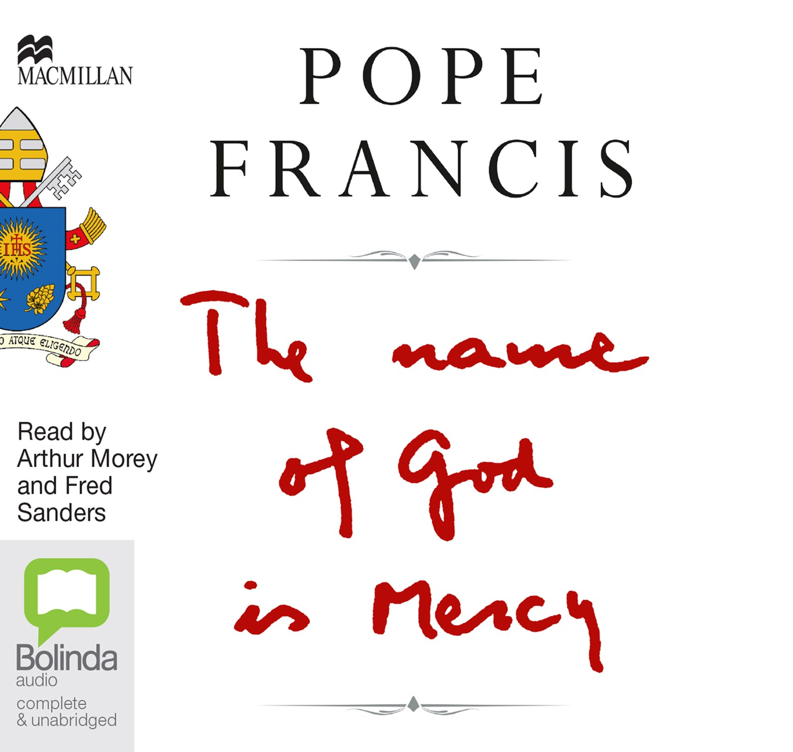 NAME OF GOD IS MERCY CD