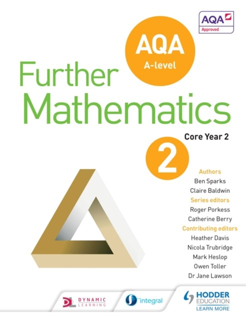 (ebook) AQA A Level Further Mathematics Core Year 2