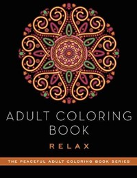 Adult Coloring Book Relax