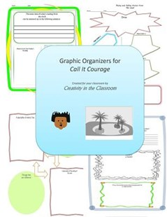 Graphic Organizers for Call It Courage by Creativity in the Classroom (9781514107126) - PaperBack - Education Teaching Guides