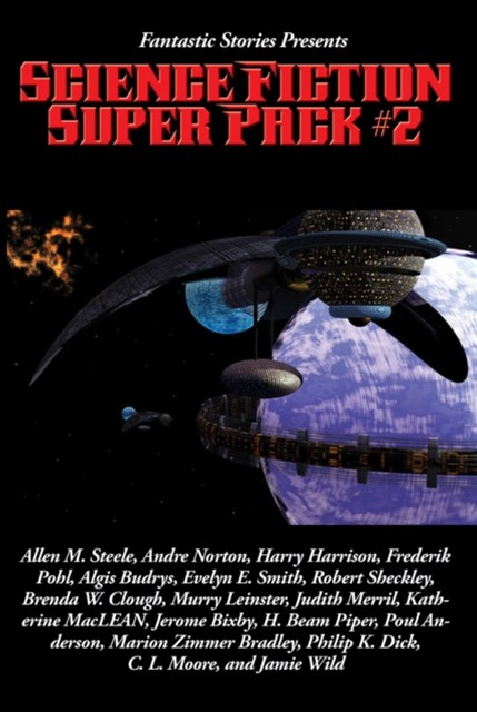 Fantastic Stories Presents: Science Fiction Super Pack #2