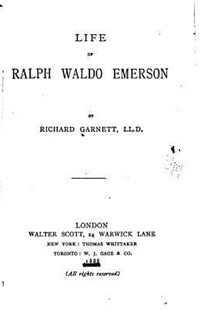 Life of Ralph Waldo Emerson by Richard Garnett Dr (9781517535803) - PaperBack - Modern & Contemporary Fiction General Fiction