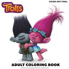 The Official Trolls Coloring Book DreamWorks