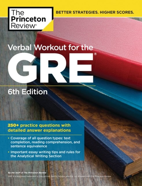 Verbal Workout for the GRE, 6th Edition