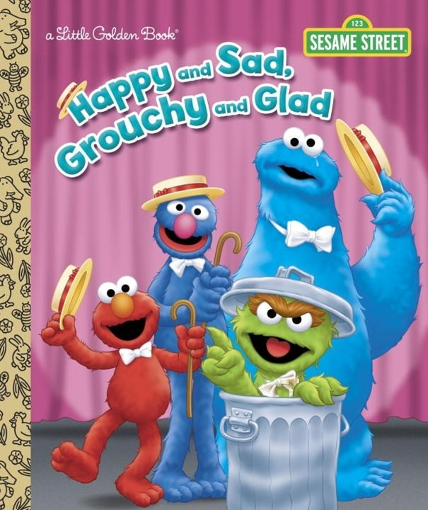 LGB Happy And Sad, Grouchy And Glad (Sesame Street)