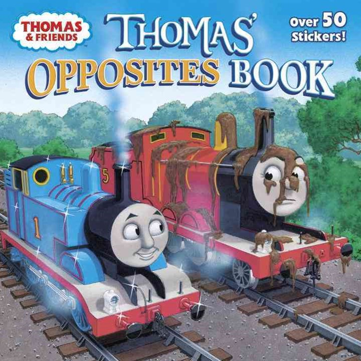 Thomas' Opposites Book (Thomas and Friends)