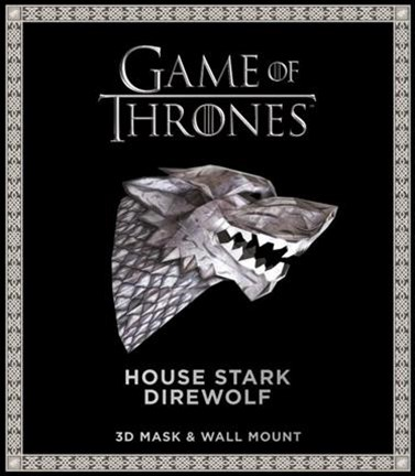 Game of Thrones Mask - House Stark Direwolf