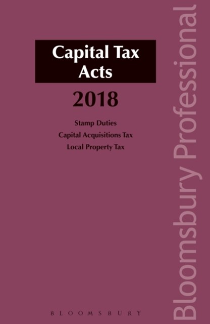 Capital Tax Acts 2018
